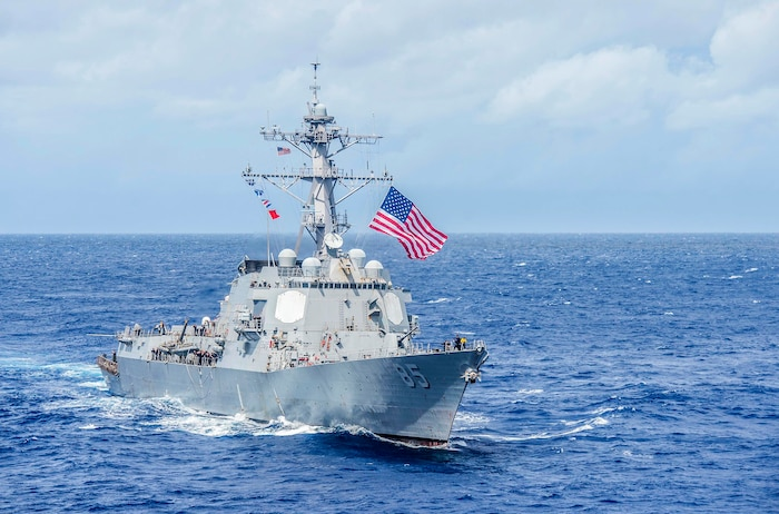 USS McCampbell Returns to U.S. for Modernization