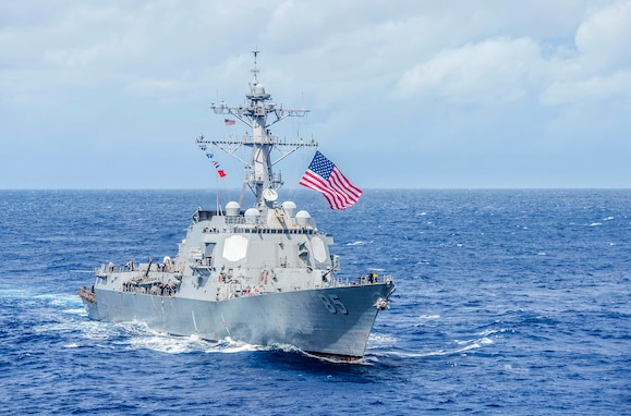 USS McCampbell Returns to U.S. for Modernization