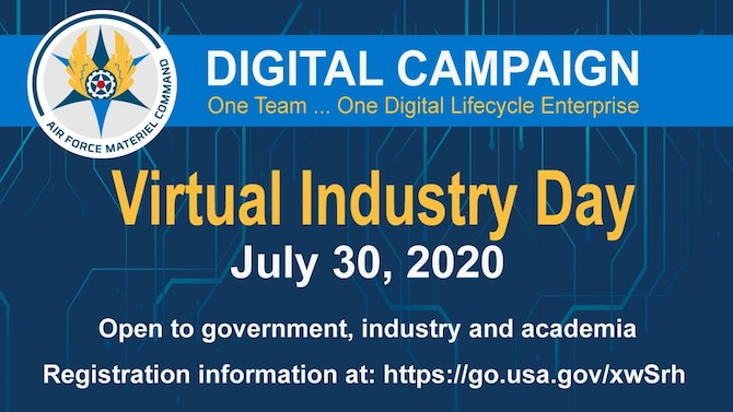 infographic for Virtual industry day