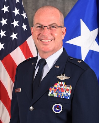 This is the official portrait of Brig. Gen. Russell D. Driggers.