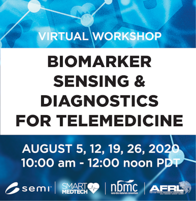 Because of the Covid-19 pandemic, the August 2020 SEMI NBMC workshop will be a virtual event. (Courtesy graphic)