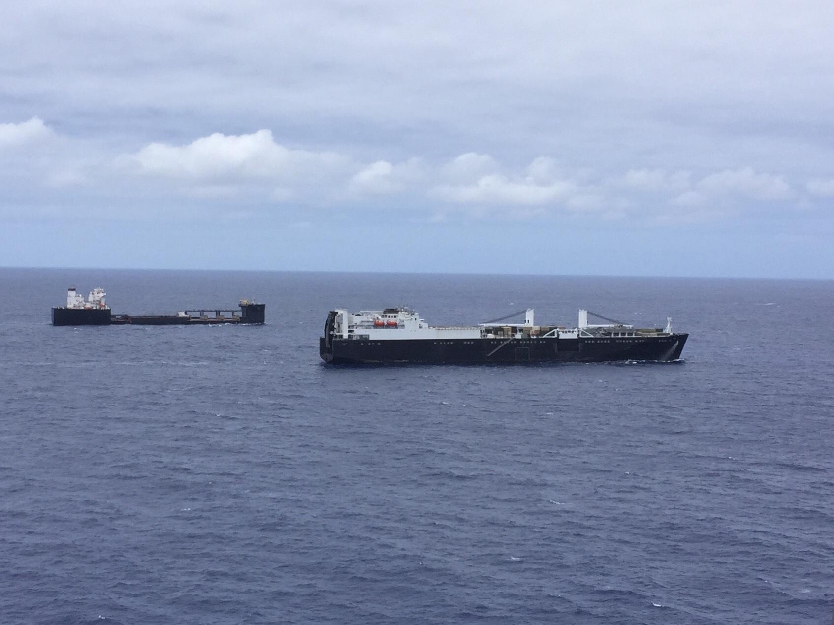 USNS Dahl and USNS Montford Point