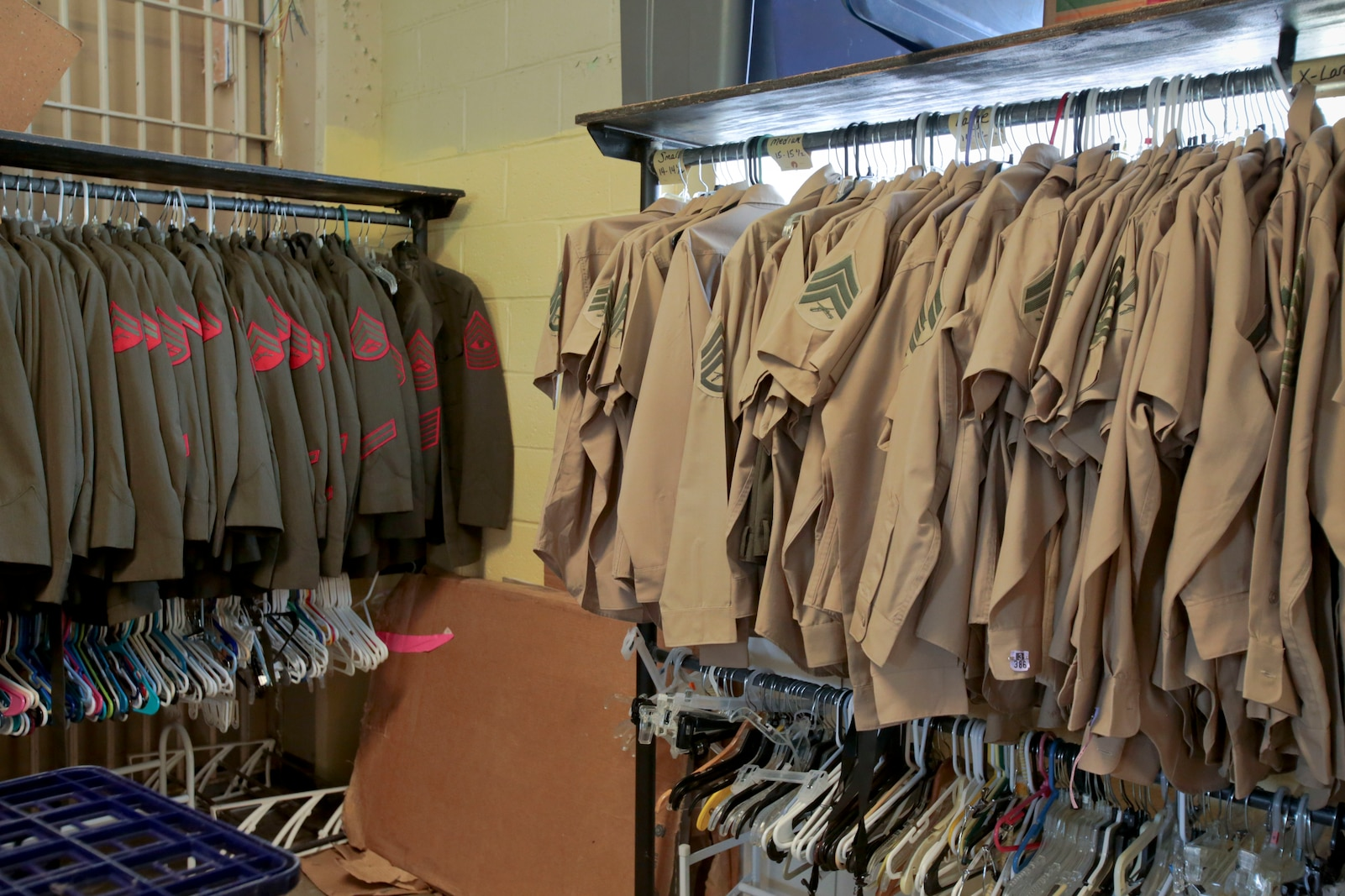 The Staff Non-Commissioned Officers Wives Thrift Shop benefited Marines stationed at Marine Corps Logistics Base Albany as well as their families. It has shared in the stories of the Marines who have walked in and out of its doors, provided goods, handed out academic scholarships and built relationships with organizations in the Albany community. The store has now closed its doors. Its legacy will live on through another nonprofit, Albany Rescue Mission. (U.S. Marine Corps photo by Jennifer Parks)