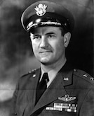 This is official portrait of  Maj. Gen. Kenneth McNaughton.