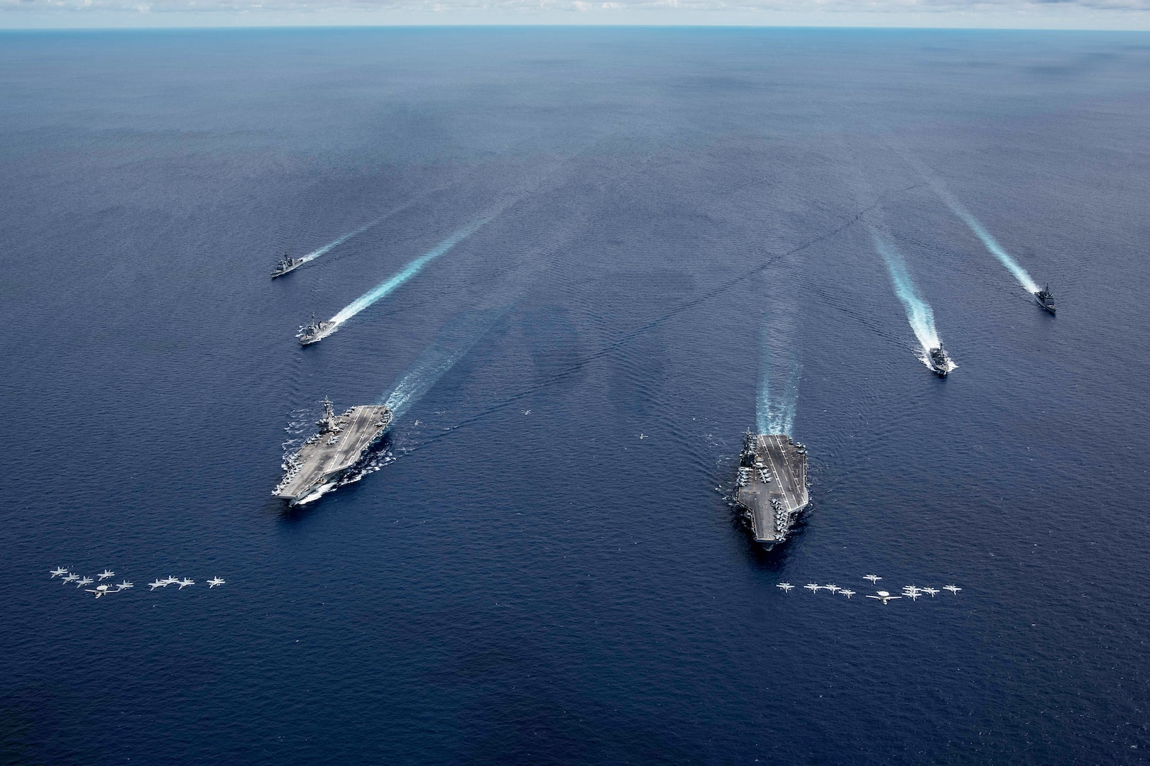 Nimitz, Reagan demonstrate unmatched commitment to free and open Indo-Pacific