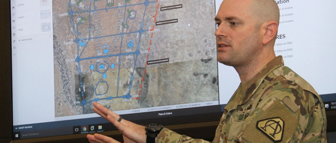 The Command Post Computing Environment supports command posts and combat operations. (Photo credit: PEO C3T, U.S. Army)