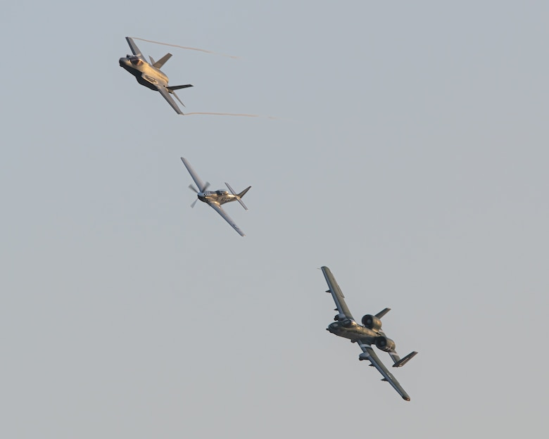 Photo of the F-35 Demonstration Team.