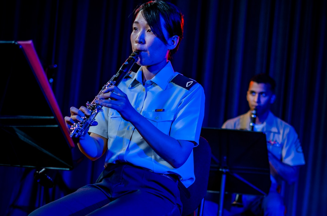 The III Marine Expeditionary Force and the Japan Ground Self-Defense Force 15th Brigade bands performed together from June 15 to 18, 2020, on Camp Foster, Okinawa, Japan.