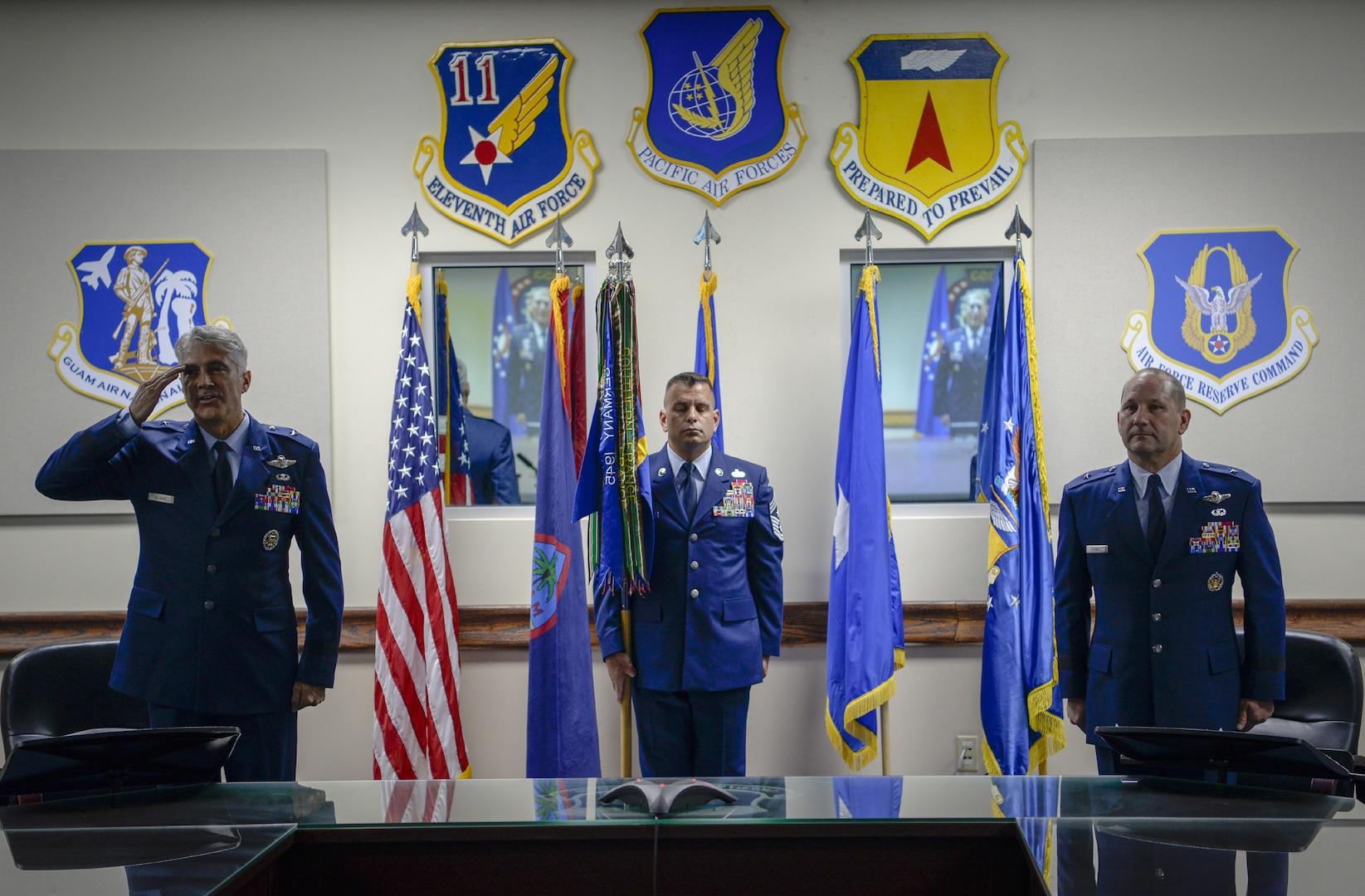 Team Andersen welcomes Brig. Gen. Sloane as new Commander