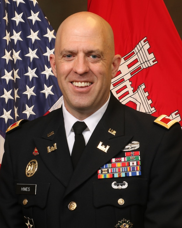 Col. Mark Himes official photo