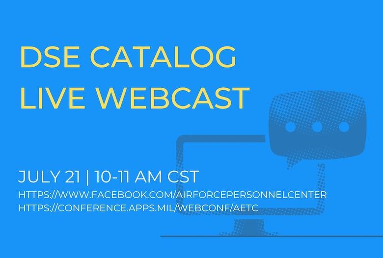 DSE Catalog Live Webcast