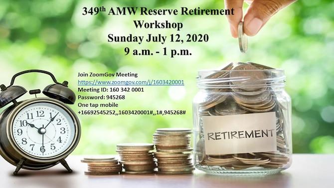 349th AMW Hosts Reserve Retirement Workshop