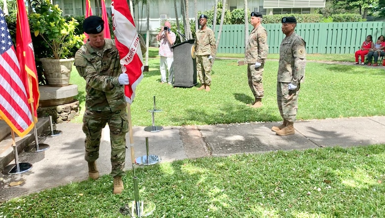 Col. Kirk E. Gibbs took command of the U.S. Army Corps of Engineers, Pacific Ocean Division during a ceremony presided over by Lt. Gen. Todd T. Semonite, 54th Chief of Engineers and Commanding General of the U.S. Army Corps of Engineers.
