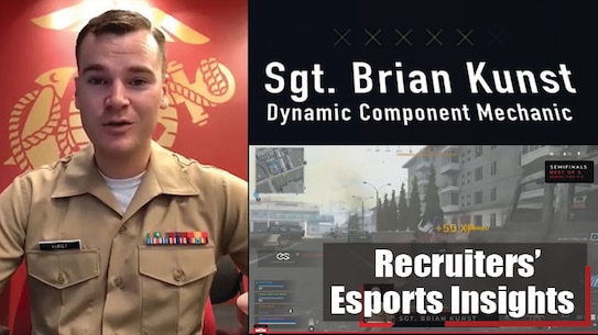 """Hear from Marine Corps recruiters and esports broadcasters who participated in """"Reload Drops In With the Marine Corps,"""" a two-day Call of Duty: Warzone gaming tournament hosted online by Esports Stadium Arlington in partnership with the U.S. Marine Corps. More than 500 gamers registered as teams of three to compete during open qualifiers on June 26 for the chance to be reinforced by active-duty Marines to compete on June 27 as a team of four."""