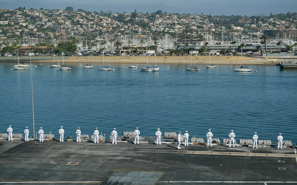 USS Theodore Roosevelt Returns Home from Deployment