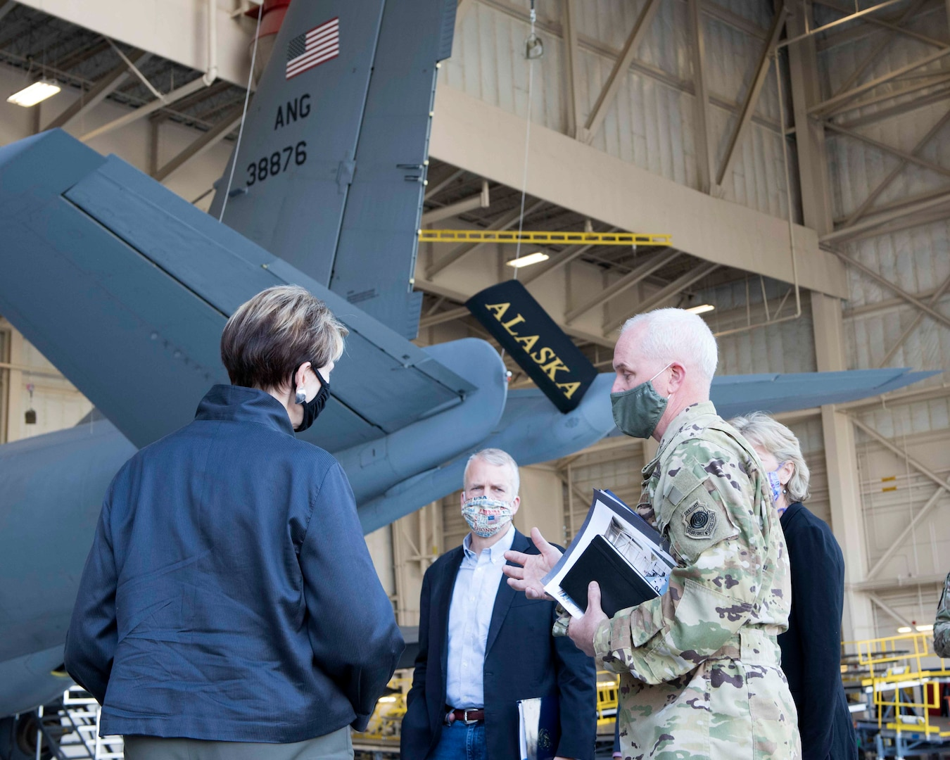 SecAF Beholds Alaska Airpower during Visit, Emphasizes Arctic's Importance to National Security