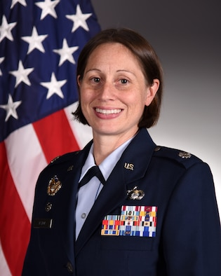 Official photo of U.S. Air Force Lt. Col. Kara Taylor, 17th Comptroller Squadron commander.