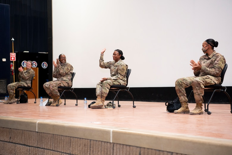 Military Women Leading the Way: Senior leaders mentor through open forum