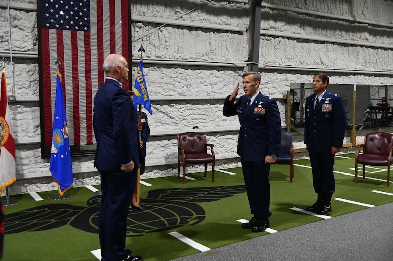 308th Rescue Squadron Change of Command
