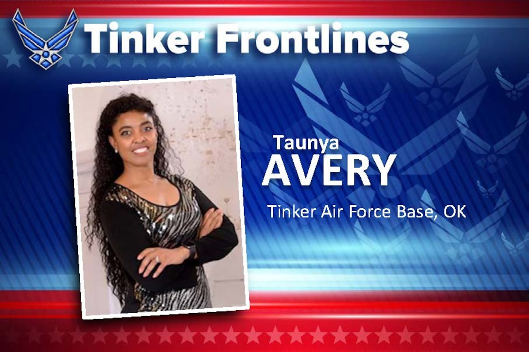 Taunya L. Avery is the assistant installation deployment officer and logistics planner with the 72nd Logistics Readiness Squadron.