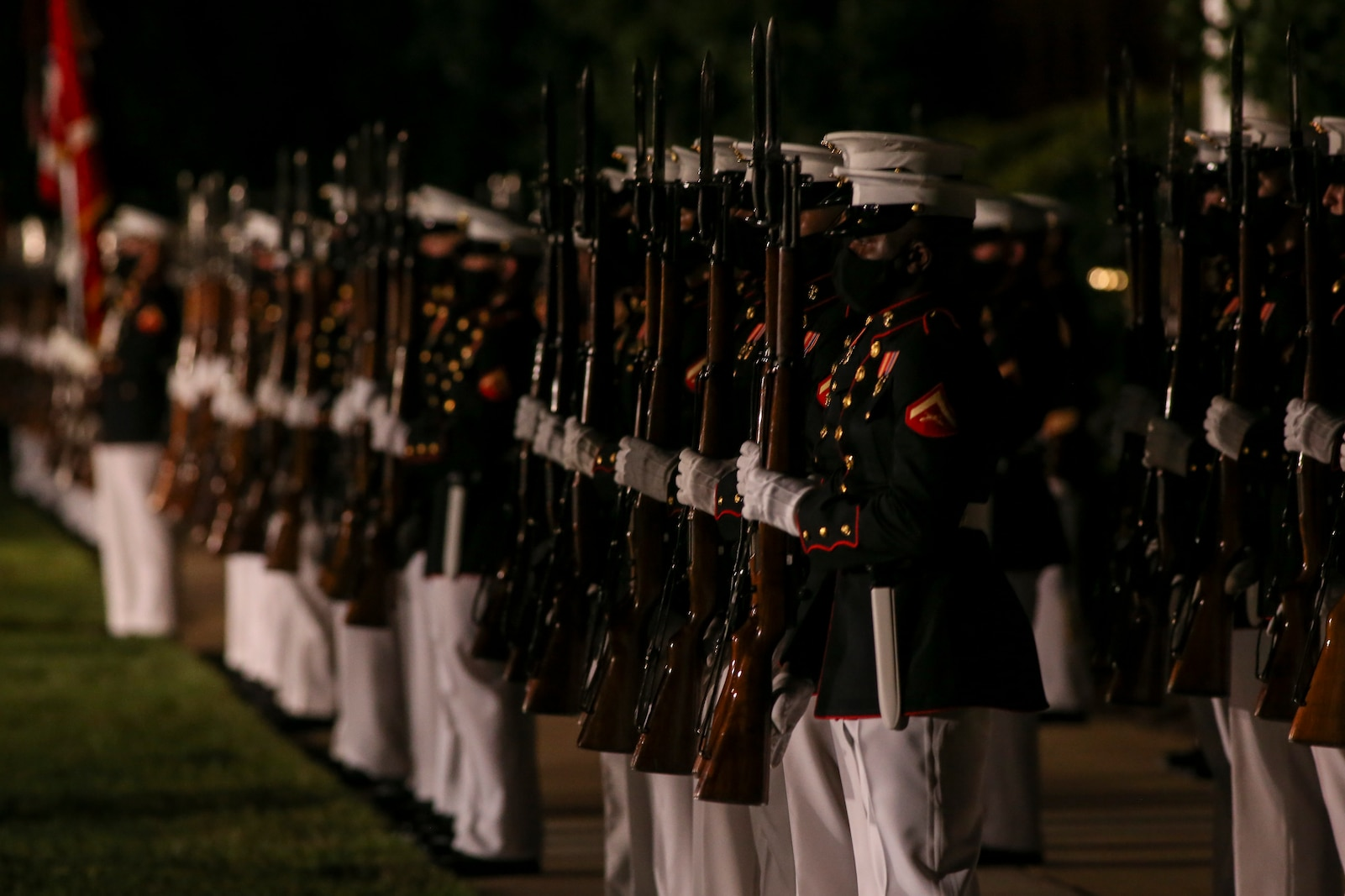 Admiral Michael M. Gilday, chief of naval operations, was the guest of honor, and the hosting official was the 39th Commandant of the Marine Corps, Gen. David H. Berger.