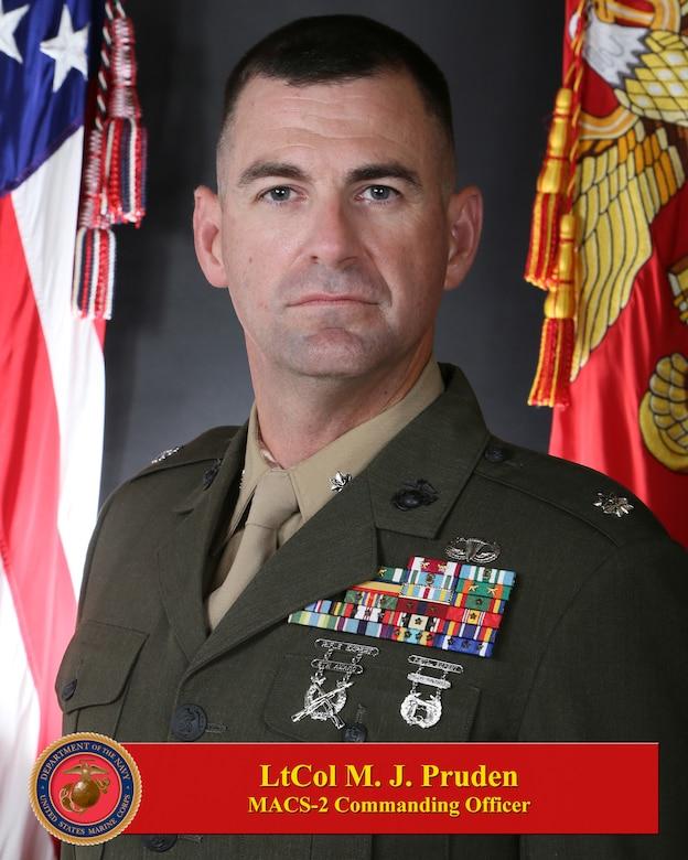 Lieutenant Colonel Michael J. Pruden