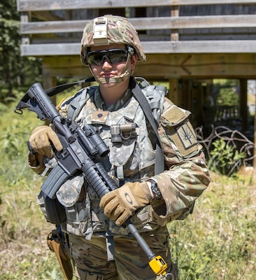 NY Army National Guard Soldier crams a career into one year