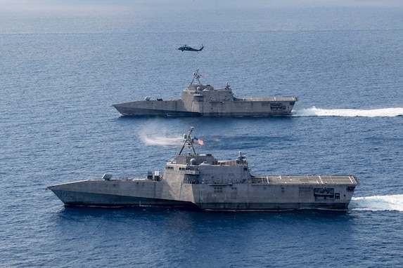 Air Detachment brings Extended Combat Capability to Rotationally Deployed LCS
