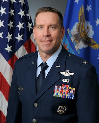 A photo of Col. Craig R. Andrle, vice commander, 388th Fighter Wing