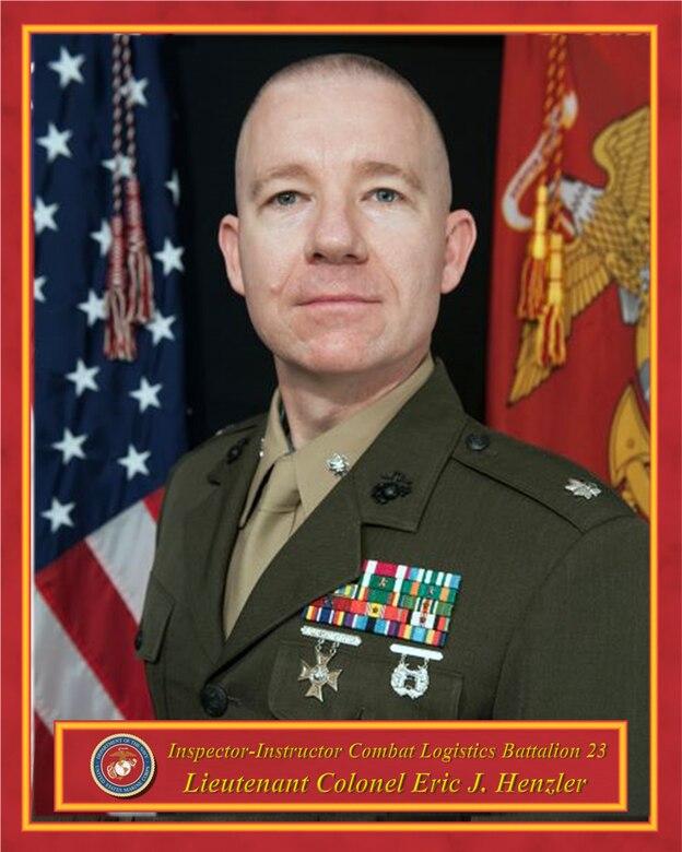 Inspector-Instructor, Combat Logistics Battalion 23