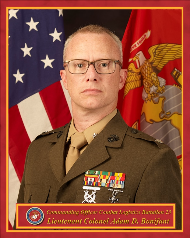 Commanding Officer, Combat Logistics Battalion 23