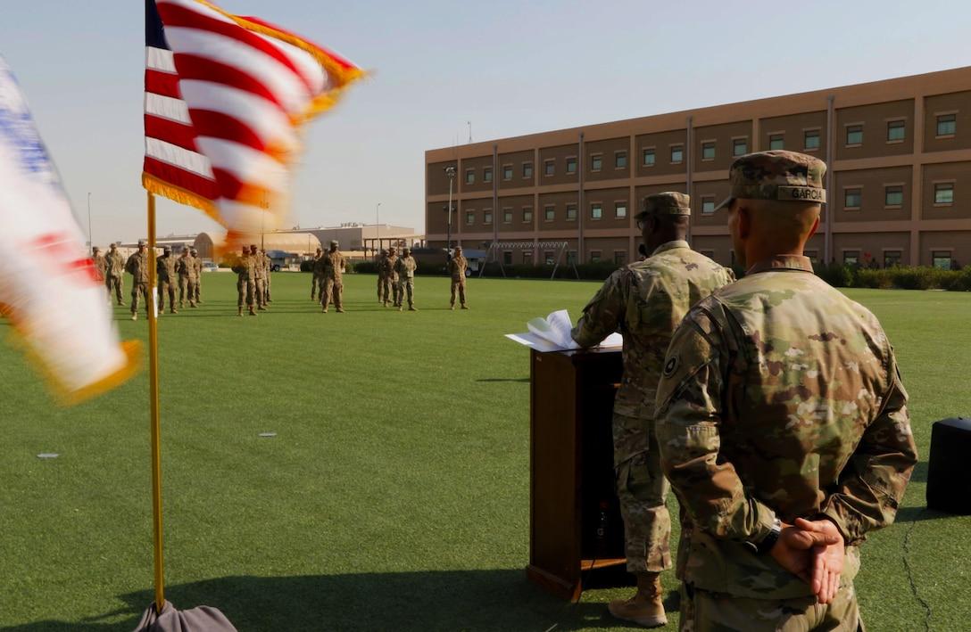 Basic Leaders Course (eBLC) at Camp Arifjan