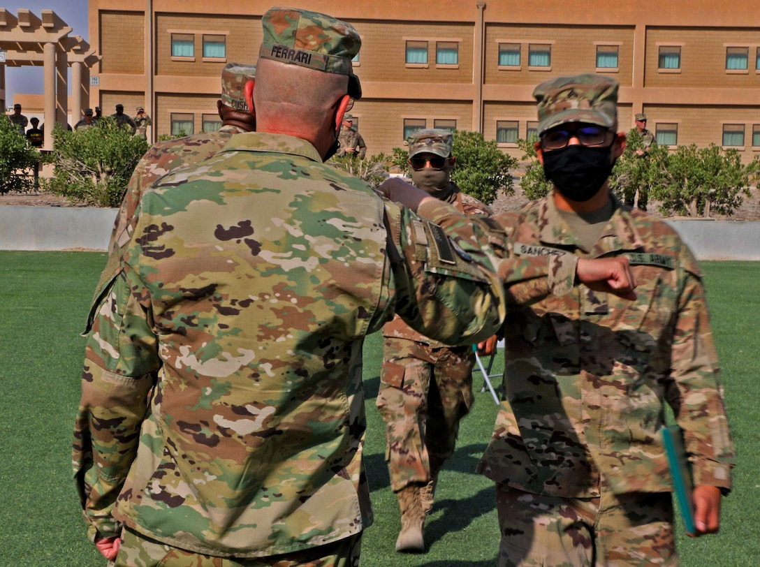 Basic Leaders Course (eBLC) at Camp Arifjan