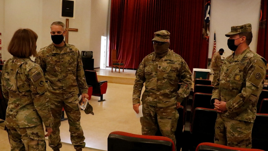 Area Support Group – Kuwait (ASG-K) Change of Command Ceremony