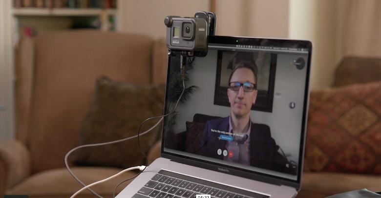 Ben Kimball on computer screen