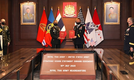 Historic Thai-U.S. Alliance Plans for 21st Century Challenges