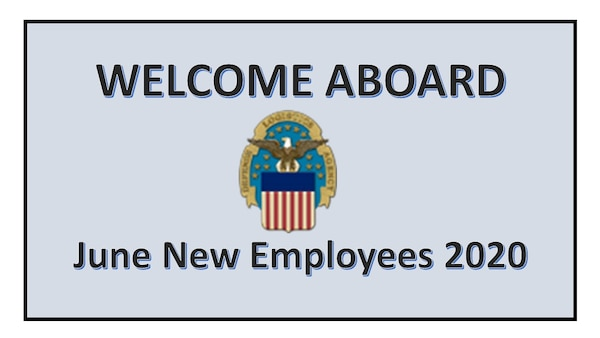 Power Point Chart welcoming June New Employees