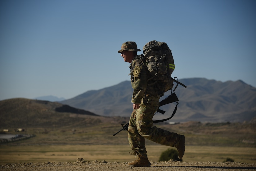 Soldiers and Airmen with the Utah National Guard compete in the state level Best Warrior Competition July 7, 2020 at Camp Williams Utah.