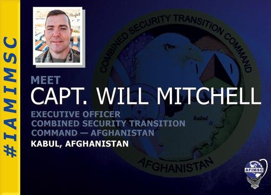 Capt. Will Mitchell #IAMIMSC graphic