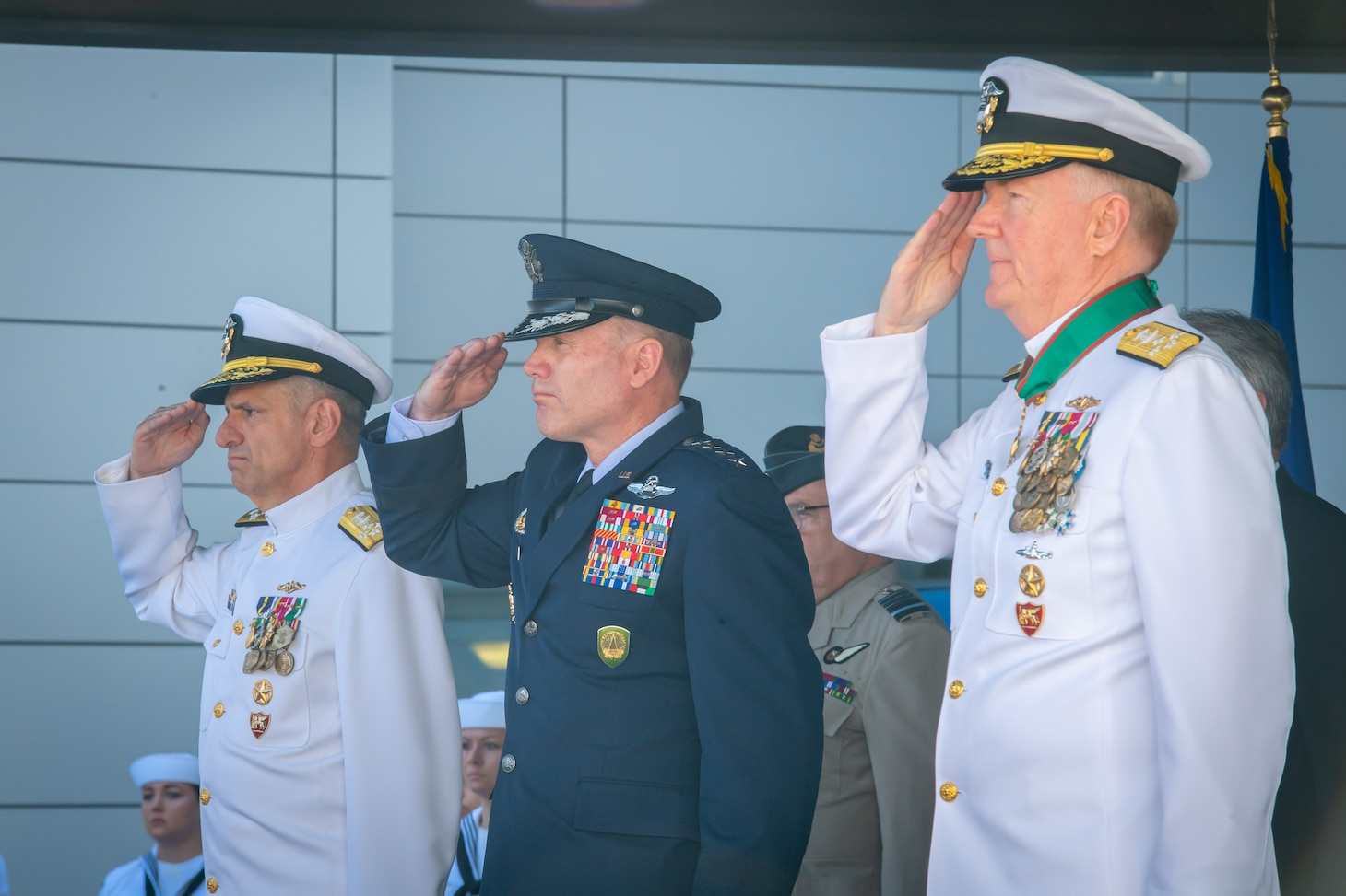U.S. Naval Forces Europe-Africa Change of Command Ceremony