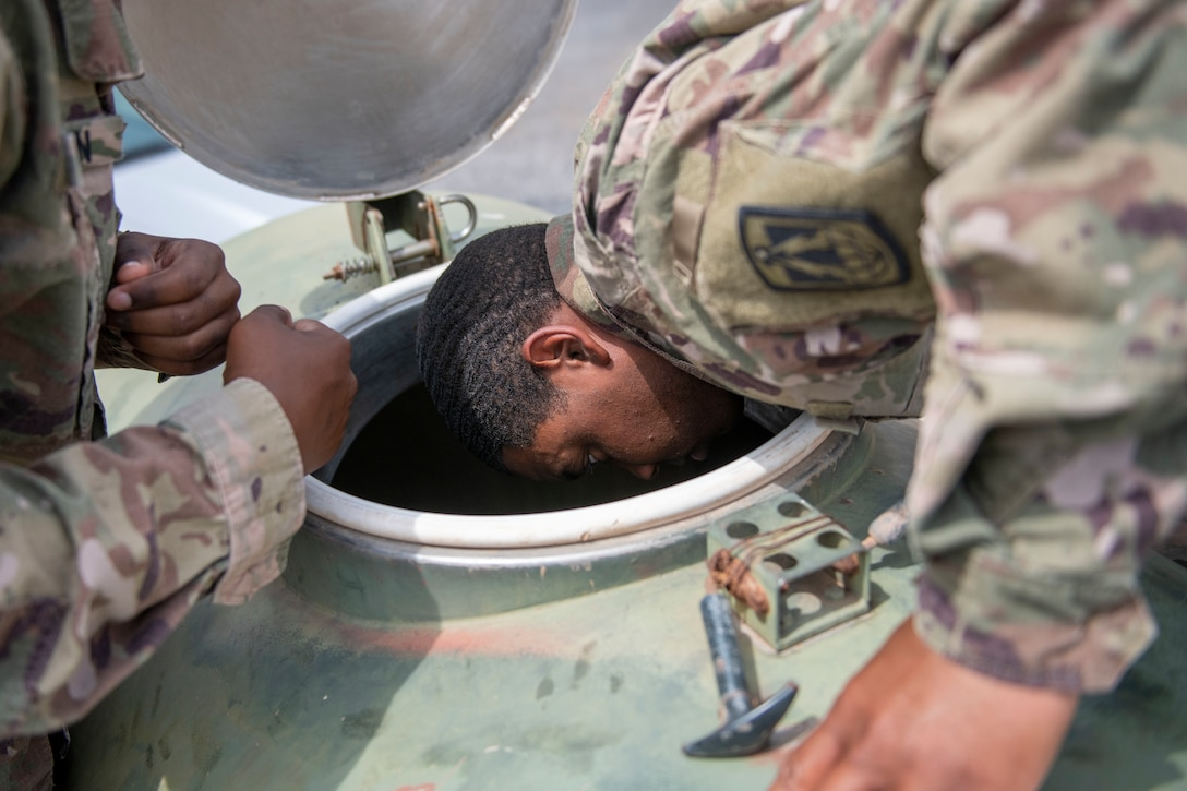 443rd CA BN hosts Army Field Sanitation Training certification course