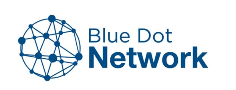 Blue Dot Network logo