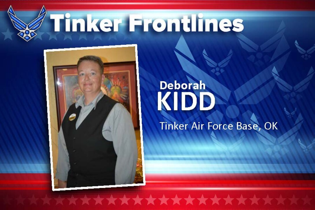 Deborah Kidd is the Quality Assurance manager at Indian Hills Inn. (Air Force photo by April McDonald)