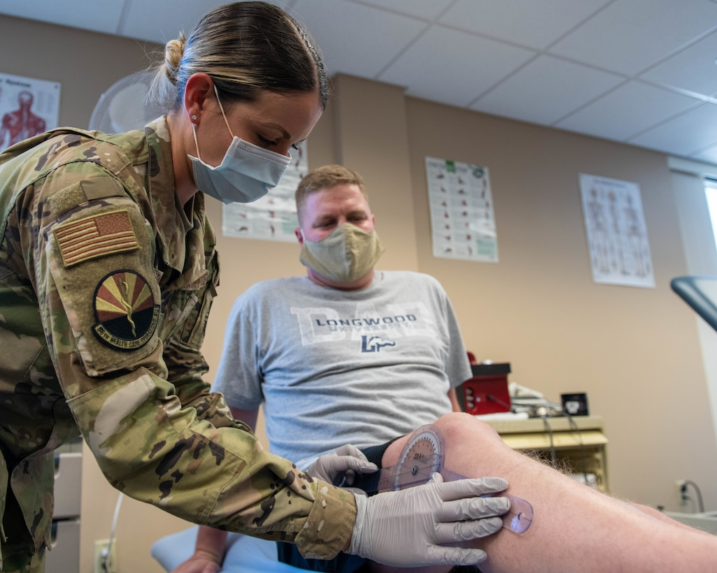 Luke Airman becomes AF's first physical therapist assistant to bypass tech school.