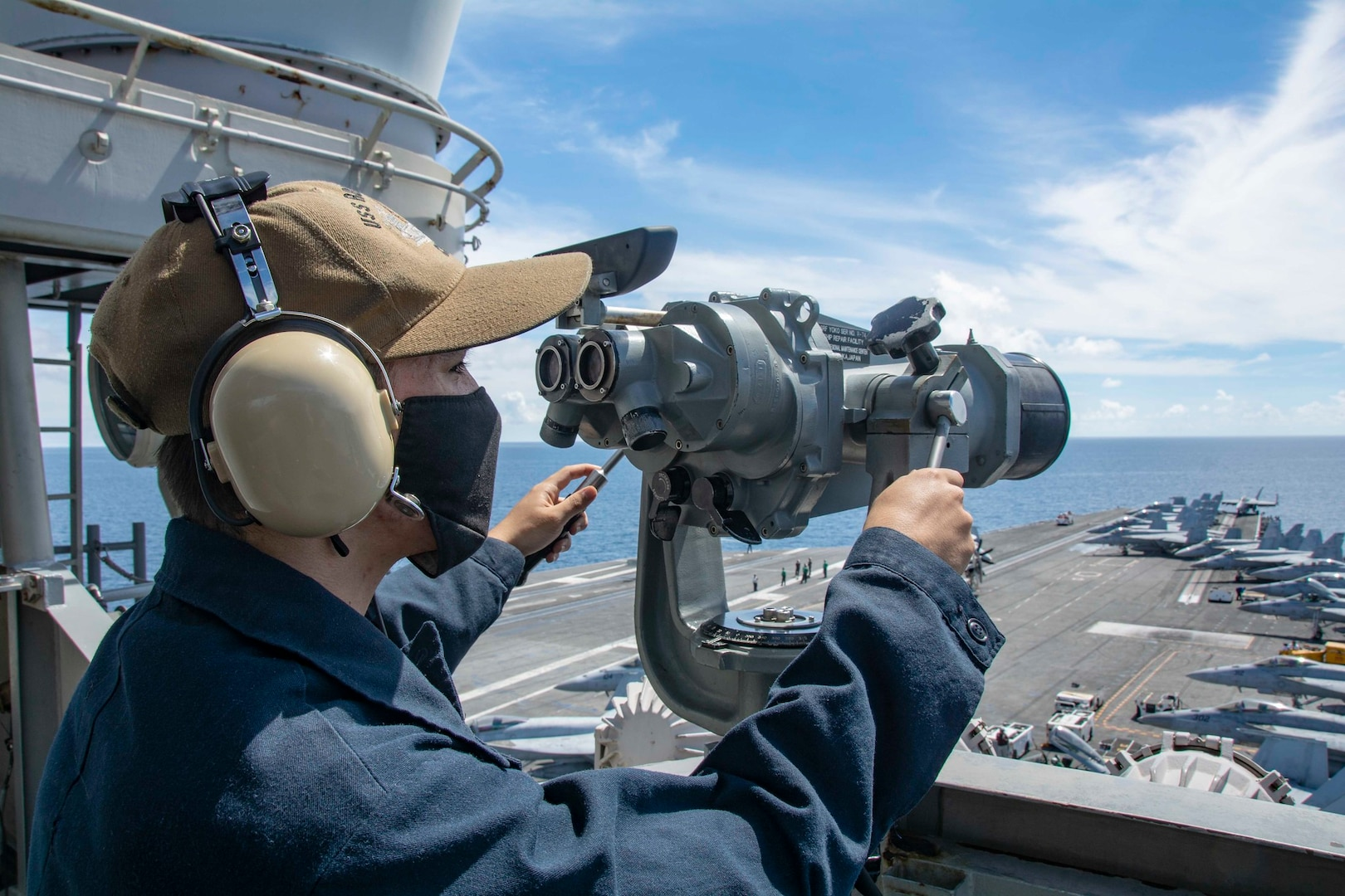 Ronald Reagan Carrier Strike Group Provides High-End Support in South China Se