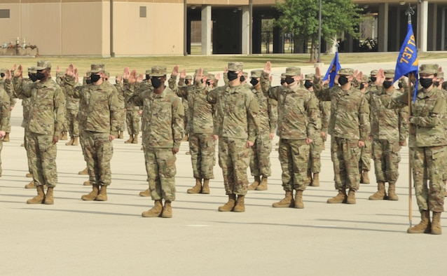 Reserve squadron marches into history