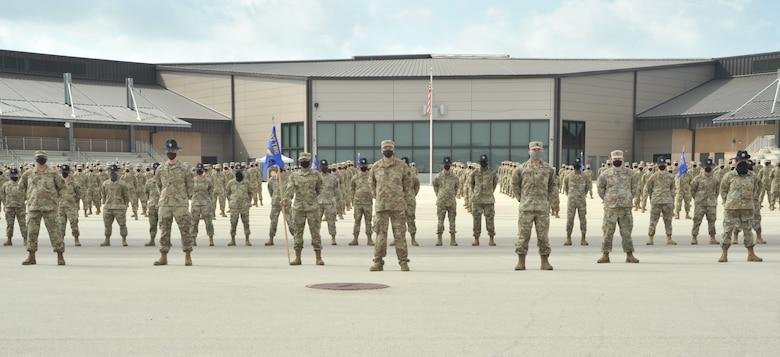 Reserve squadron marches into history
