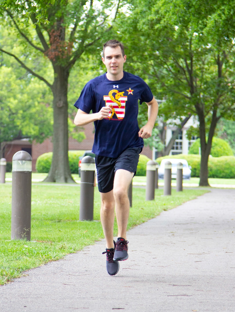 Lt. John Miller is credited with saving two lives while on an evening run near his residence.
