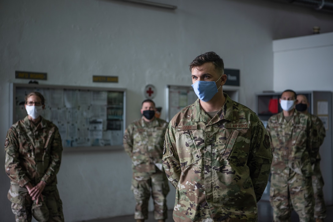 Cobb was coined twice for doing the work of noncommissioned officers, which involved proactively securing $22,000 worth of pollution prevention items, working weekends and instructing 156 Airmen on Occupational Safety and Health Administration standards.