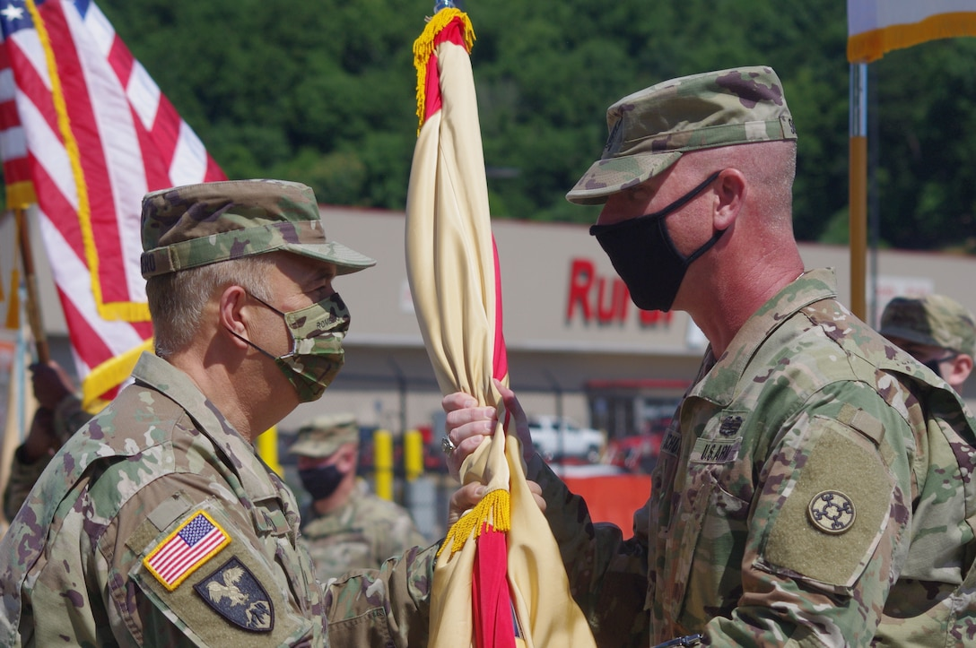 38th Regional Support Group Change of Command